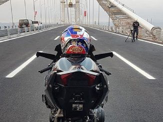 Turkey's Izmit Bay Bridge  Ninja H2R